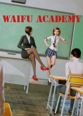 Скачать Waifu Academy на Android
